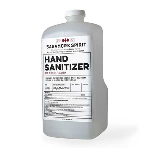 Sagamore Spirit Hand Sanitizer - Half-Gallon Jug