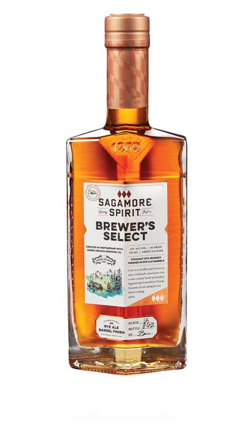 Brewer's Select: Rye Ale Finish Rye Whiskey