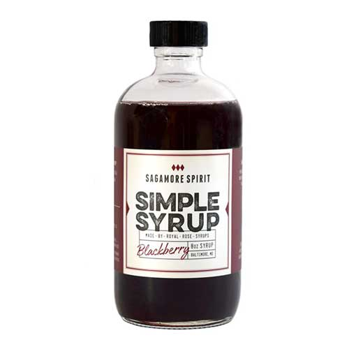 Blackberry Simple Syrup - 8oz.