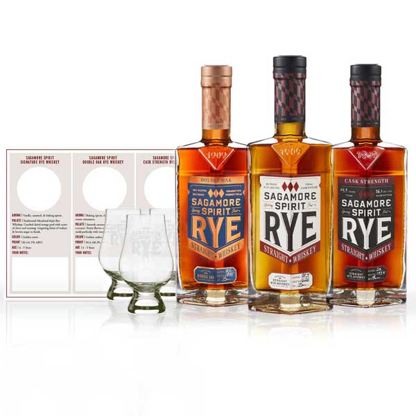 Sagamore Spirit Virtual Guided Tasting Kit (750ml)